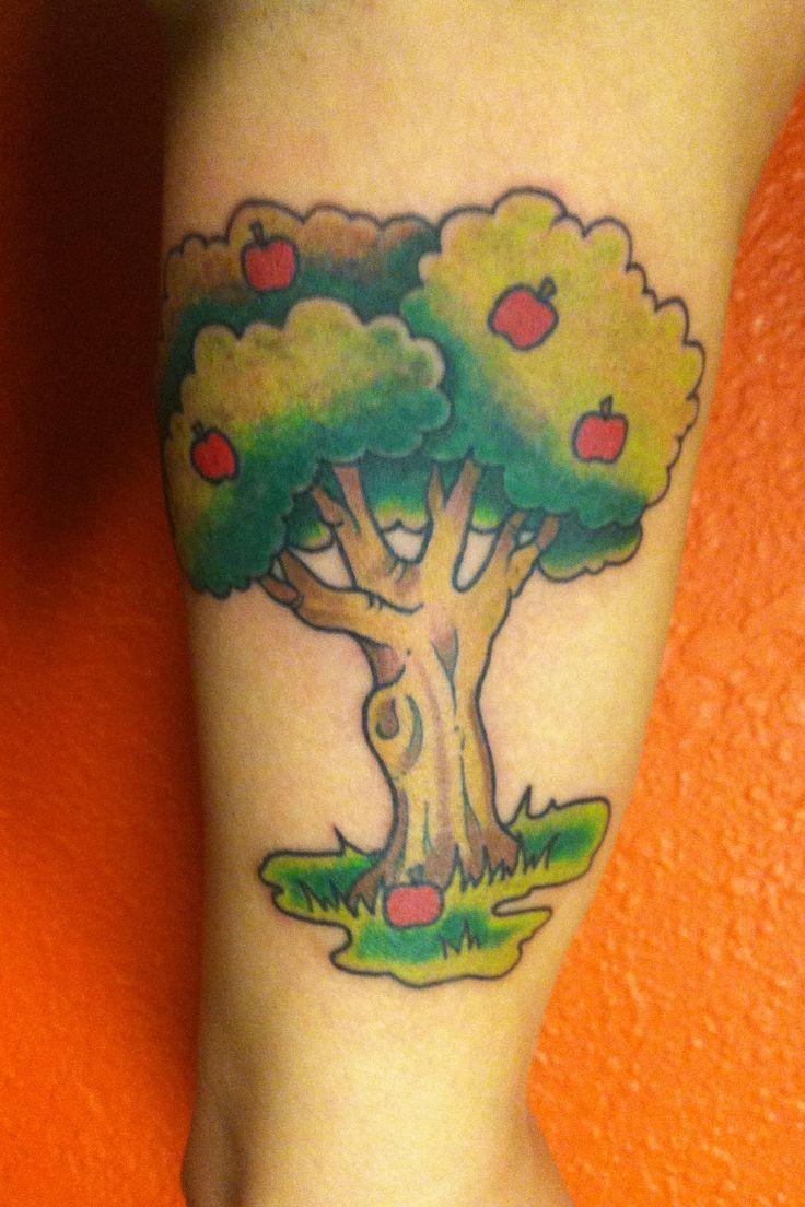 little apple tree tattoos i 39 ve done pinterest. Black Bedroom Furniture Sets. Home Design Ideas