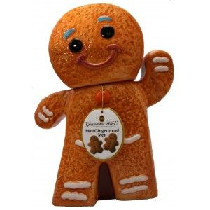 Gingerbread Man Cookie Jar (150g) | too cool - cool, unique gift idea ...