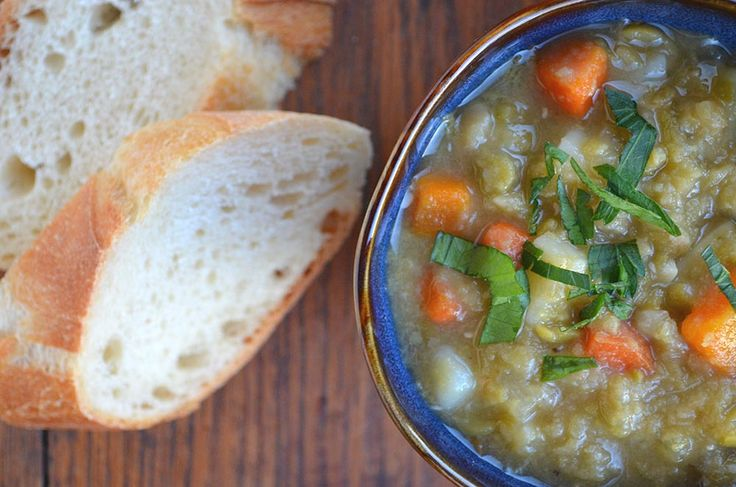 Vegetarian Split Pea Soup | A little...Soup | Pinterest