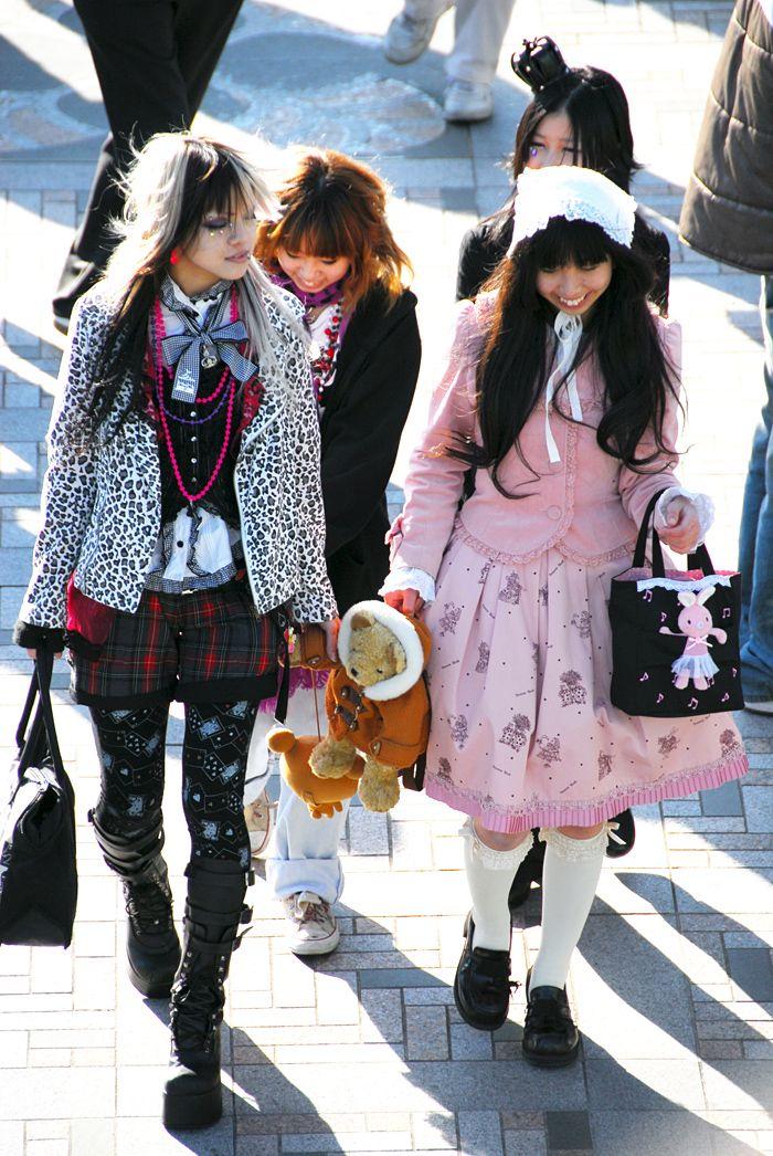 Harajuku Girls Japanese Street Style Pinterest
