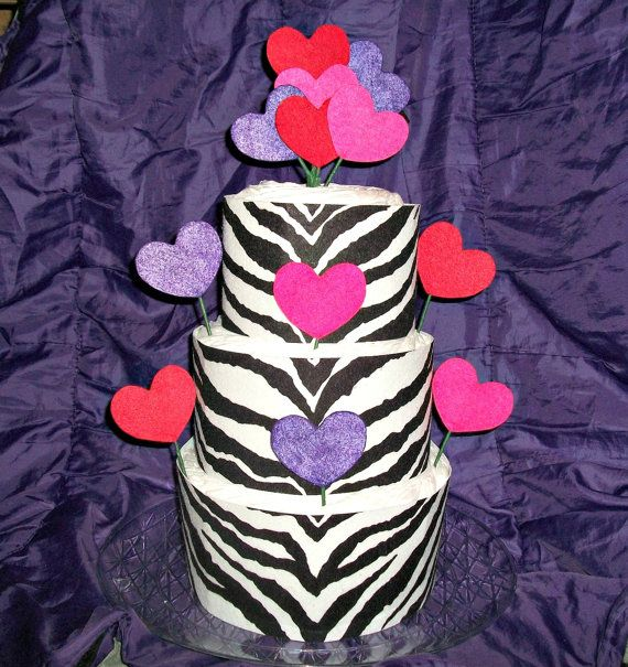 valentine's day tiered cake