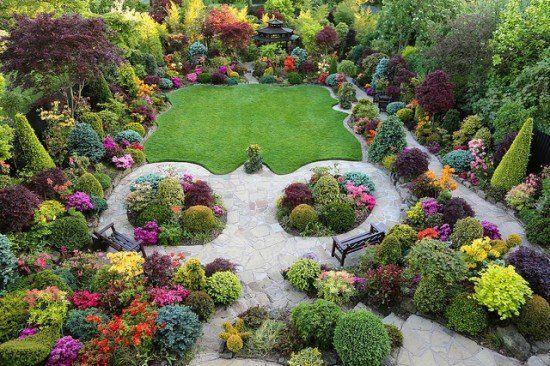 Suburban Backyard Landscaping : Beautiful Suburban Garden  Fun Garden  Pinterest