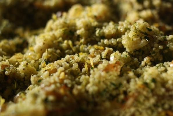 "Green Couscous – from Yotam Ottolenghi's ""plenty"""