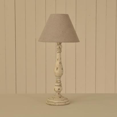 Decorus Shabby Chic Lamp Base & Shade