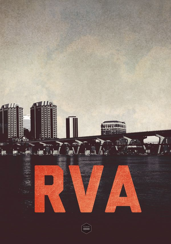 RVA Poster by Richmond Prints