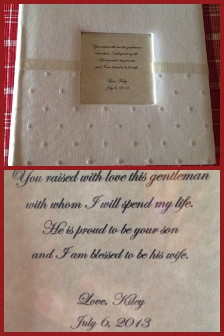 Wedding Gifts For Future Mother In Law : Wedding Gift For Future Mother-In-Law