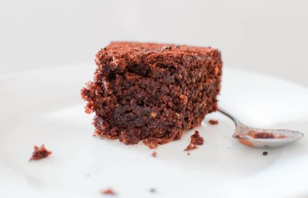 Ferrero flourless chocolate and hazelnut chocolate cake