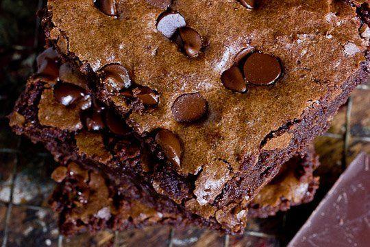 Triple Chocolate Chip Brownies | Recipe