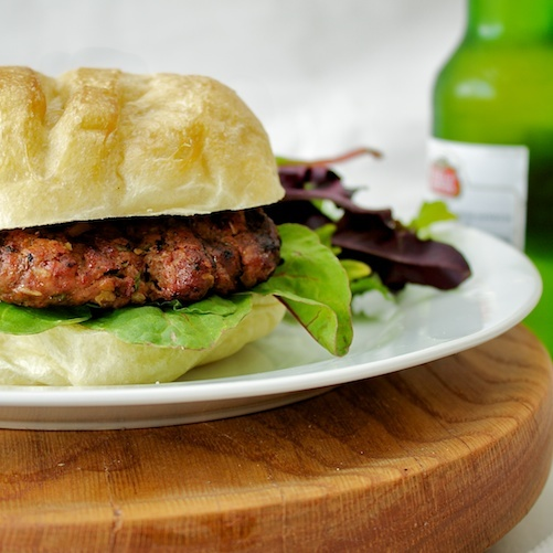 Korean Barbeque Burgers from Cooking Light's Way to Cook Grilling ...