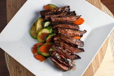 Balsamic Glazed Skirt Steak | Food I Must Make... | Pinterest
