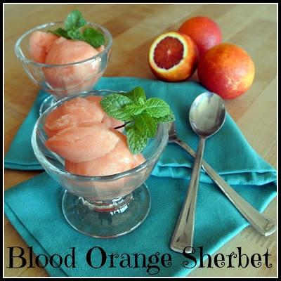 Blood Orange Sherbet | Sweet Tooth! | Pinterest