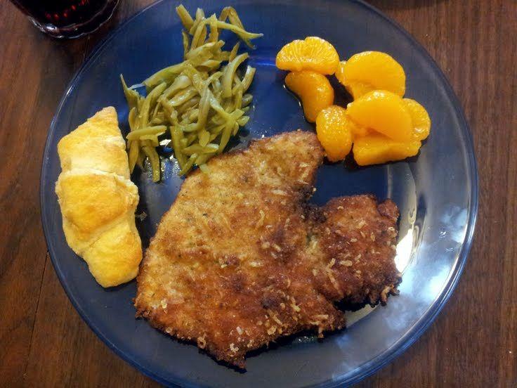 "Italian Breaded Pork Chops! ""Delicious."" @allthecooks #recipe #pork..."