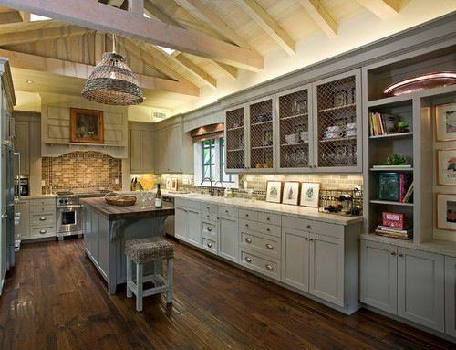 Rustic Farmhouse Kitchen Interior Design Pinterest