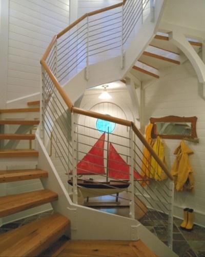 Lighthouse interior beach house style pinterest for Light house interior
