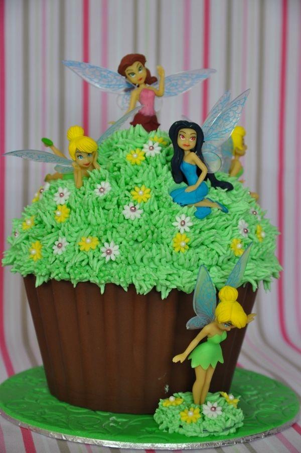Tinkerbell Cake maybe make it to look like a mushroom
