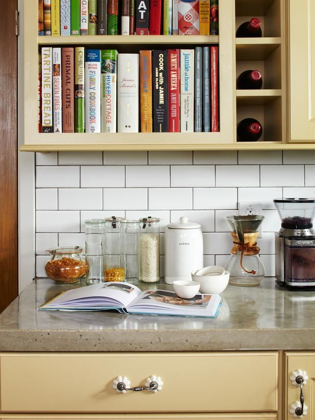 Concrete counters are beautiful, durable and less expensive than some other popular options.