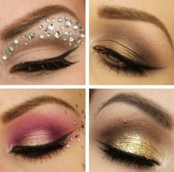 make up idee originali trucco capodanno : Idee trucco occhi per Capodanno 2014 Hair & Beauty Pinterest