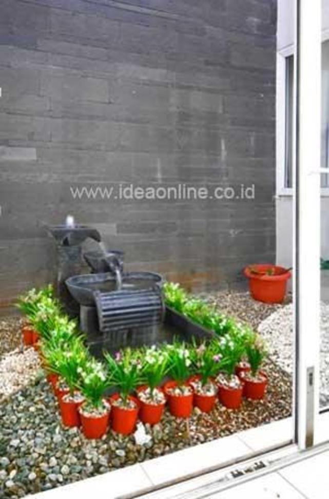 taman mini di dalam rumah innercourt garden pinterest