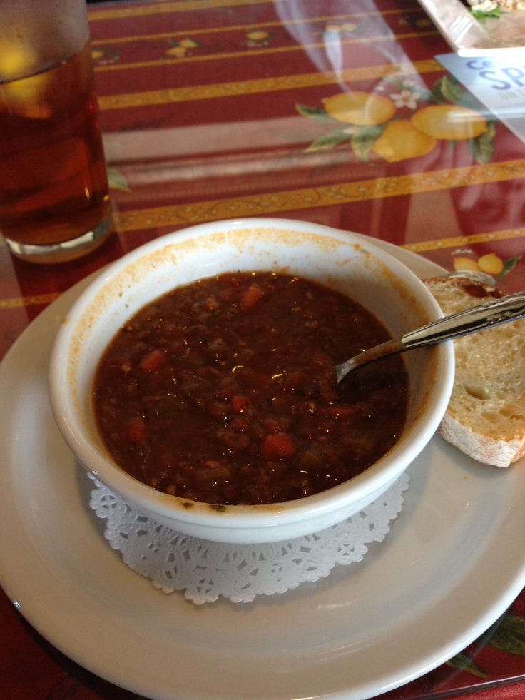 The French Lentil and Chicken Sausage soup from Ettore's European ...