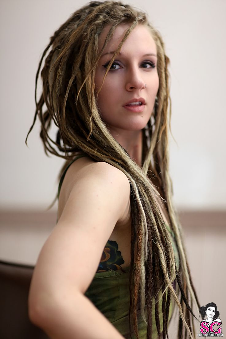 lovely long skinny dreads   Deadly Dreadlies   Pinterest