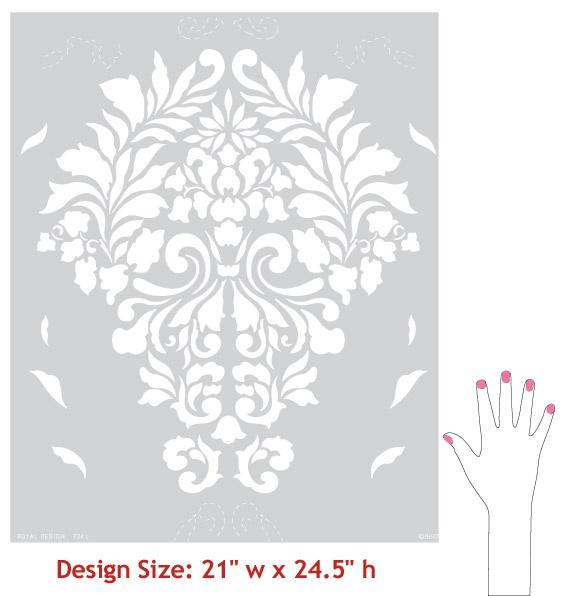 size of stencil