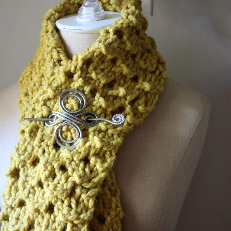 Chunky Knitting Patterns : Hunny Chunky Cowl Scarf Knitting Pattern