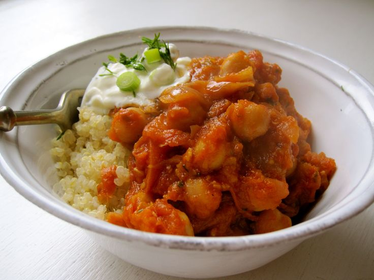 Chickpea Tagine | My Tagine Recipes | Pinterest