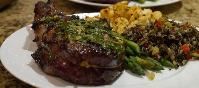 Grilled Veal Chops with Gremolata | Meats and Poultry | Pinterest