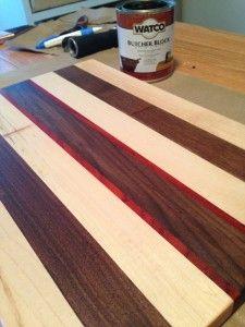 diy butcher block cutting board diy projects pinterest