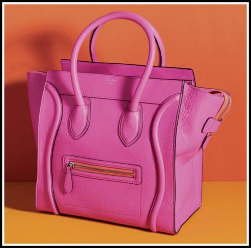 celine, hot pink :)