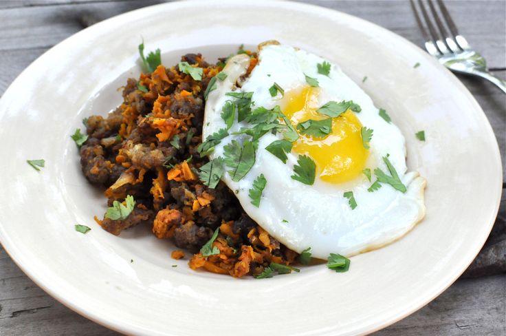 Sweet Potato and Sausage Breakfast Hash | Paleo | Pinterest