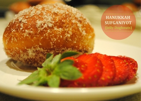 Chai Sufganiyot (Hanukkah Doughnuts) With Orange-Pumpkin Buttercream ...