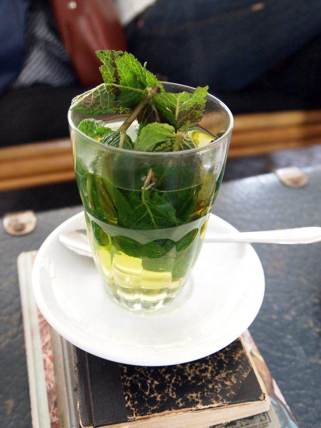 fresh mint tea | Eat & Drink | Pinterest
