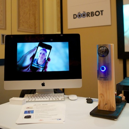 Doorbot Is Knocking Upon the Future of Doorbells — CES 2013