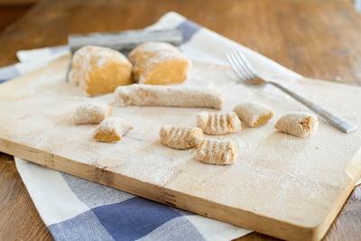 Whole Wheat Sweet Potato Gnocchi | Naturally Ella