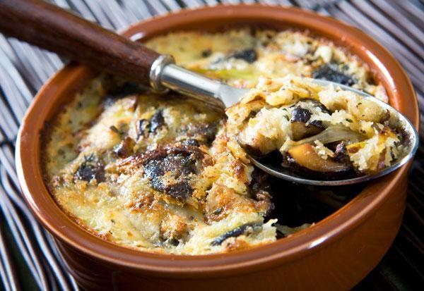 Leeks and Shiitake Mushroom Gratin | Nugget Market Recipes
