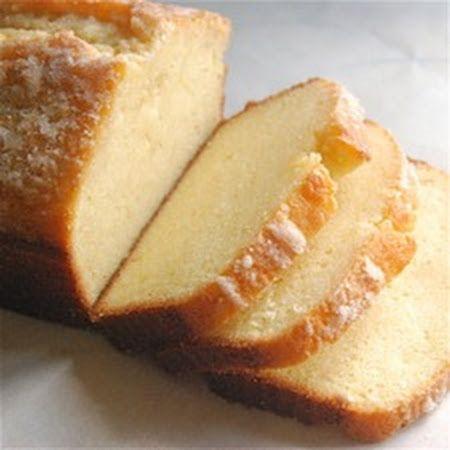 Golden Vanilla Pound Cake | Making Cakes | Pinterest
