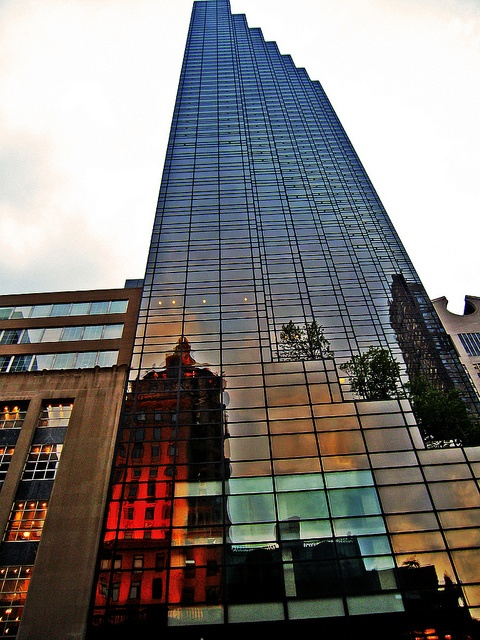 Trump Tower New York City Usa Architecture Buildings