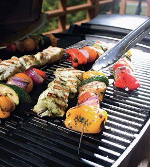 Halibut Brochettes Provençale (fasting) | Seafood | Pinterest