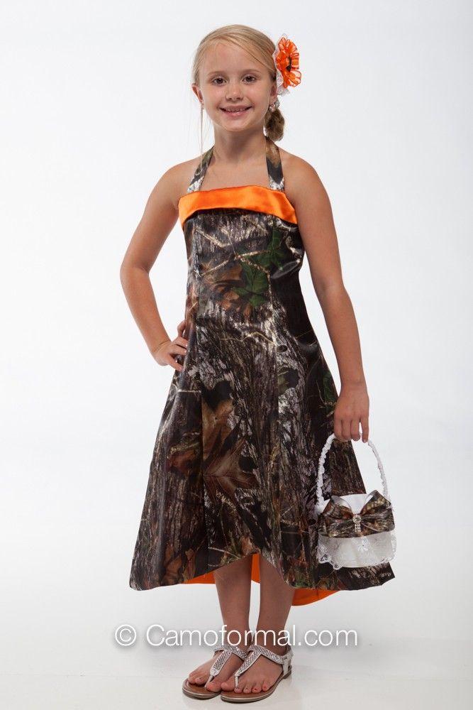Cheap Camouflage Flower Girl Dresses 117