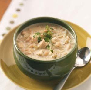 Creamy White Chili... Optional (use thighs, sausage and jalapeño