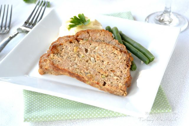 turkey meatloaf ~ this sounds good & will help in my quest to get more ...