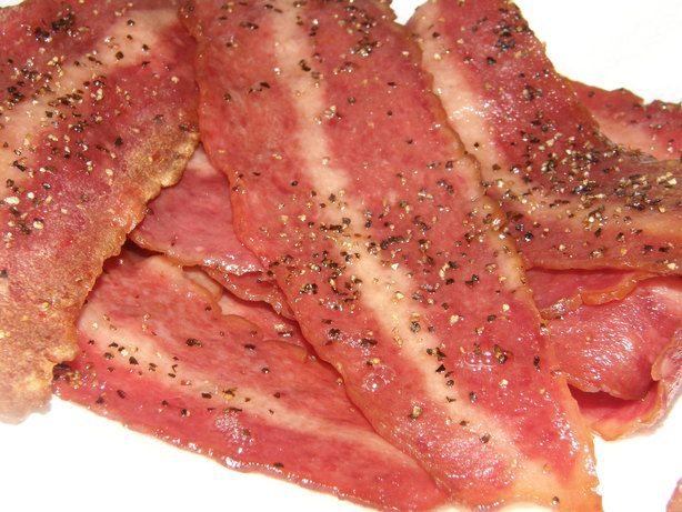 BEST Bacon (and best for you) Turkey Bacon in the oven. I do 375 for ...