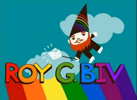 Roy gee biv
