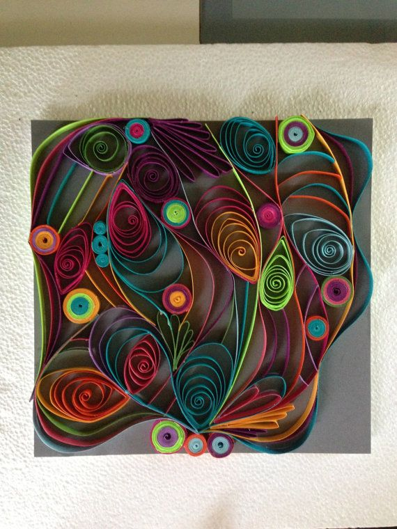 Paper Quilled Wall Art
