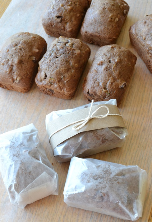 mini zucchini bread loaves | Breads and muffins | Pinterest
