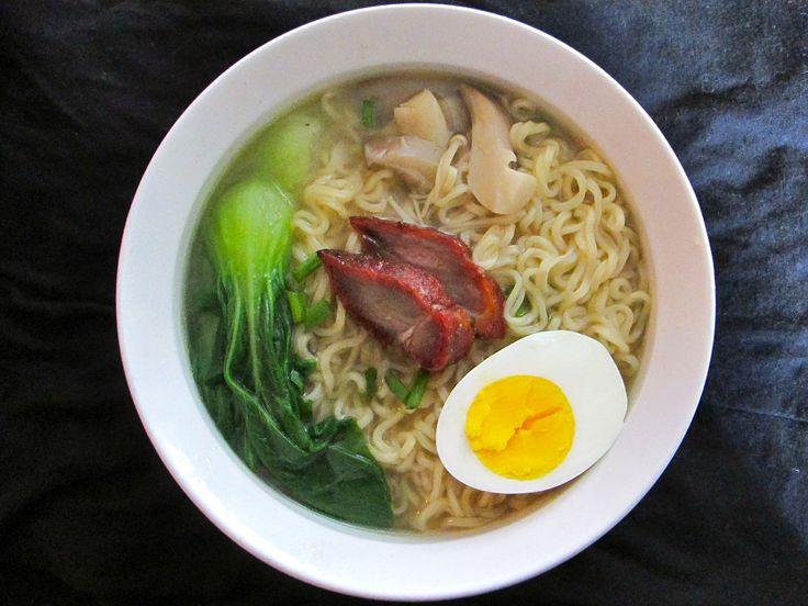 Ramen upgrade noodle soup | Ramen Noodles | Pinterest