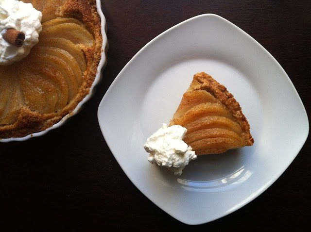 Brandied Sour Cherry And Pear Tartlets Recipe — Dishmaps