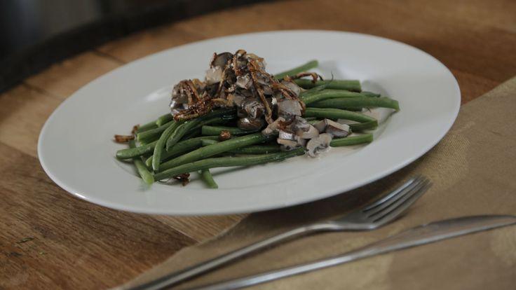 Deconstructed Green Bean Casserole | Recipe