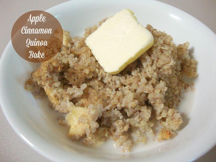 Baked Apple Cinnamon Quinoa Squares Recipes — Dishmaps